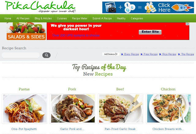Kenya Search Engine for Recipes - PikaChakula.com