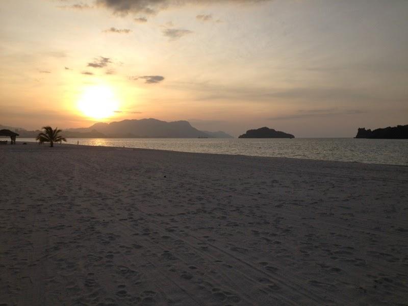Sunset di Langkawi- Nany Homestay