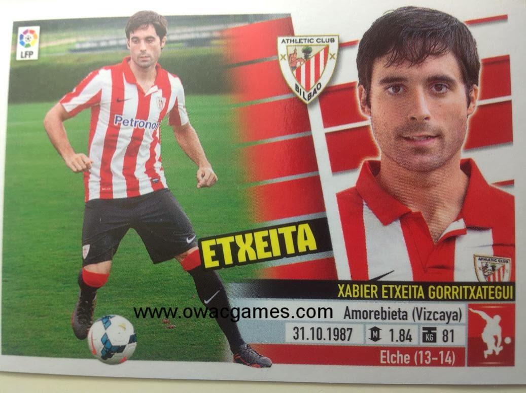 Liga ESTE 2013-14 Ath. Bilbao - 5B - Coloca - Etxeita