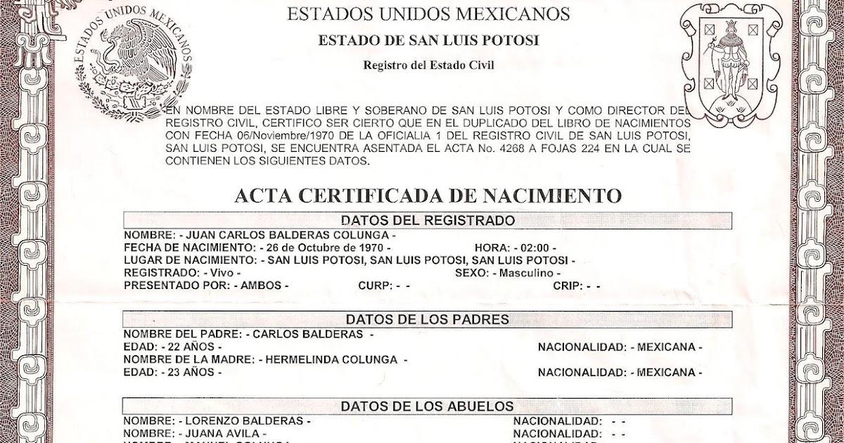 Magnífico Añadiendo Padre Al Certificado De Nacimiento Bandera ...