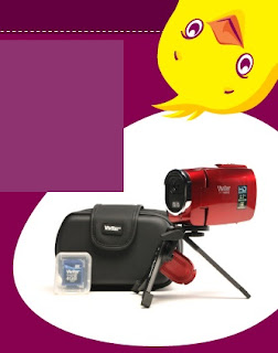 Enter to Win a Camcorder Package from Deal Chicken – 21 Winners!