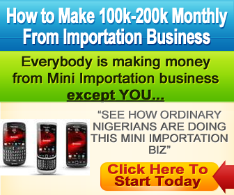 Start making cool cash from importation business