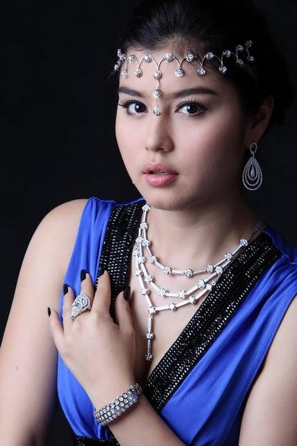Melody,myanmar model