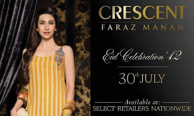 Karishma Kapoor photo shoot for Crescent Lawn