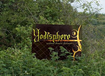 Yodisphere billboard advertisement