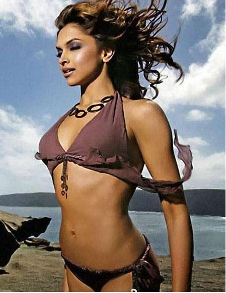 deepika bollywood actress bikini