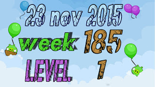 Angry Birds Friends Tournament Week 185 level 1