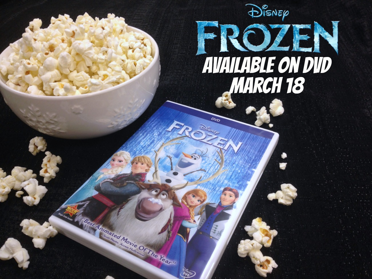 Disney FROZEN DVD review #FROZENFun #shop #cbias