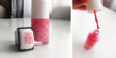 Born Pretty Stamping Polish ya qin an 18 ml pink