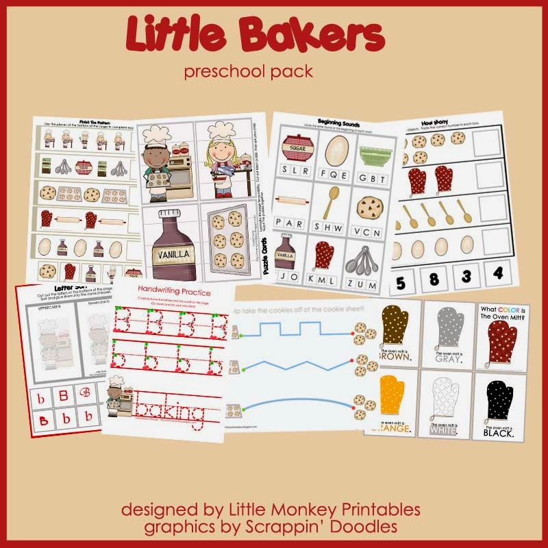 http://www.teachersnotebook.com/product/dschurma/little-bakers-preschool-pack