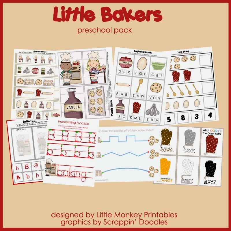 http://www.teachersnotebook.com/product/dschurma/little-bakers-preschool-pack