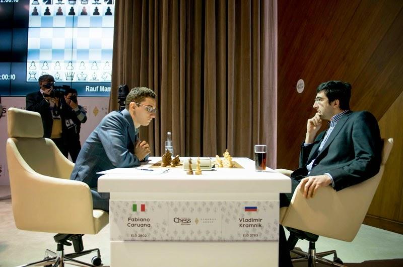 Shamkir Chess 2015. Kramnik - Caruana