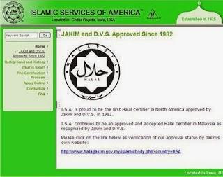 (ISA) telah diiktiraf oleh JAKIM sejak tahun 1982.