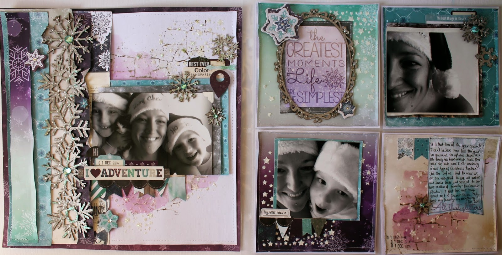 I love adventure layout by Bernii Miller for BoBunny using the Altitude collection.