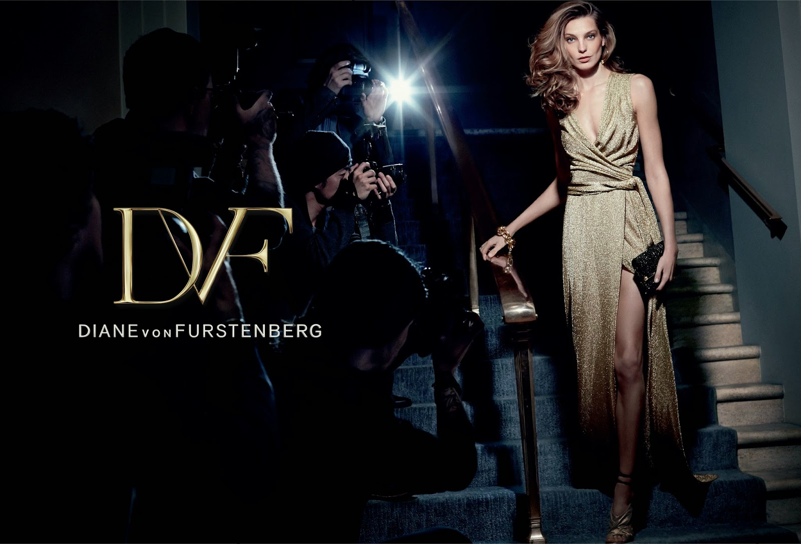 Diane von Furstenberg's Fall 2014 Ad Campaign Has Landed!