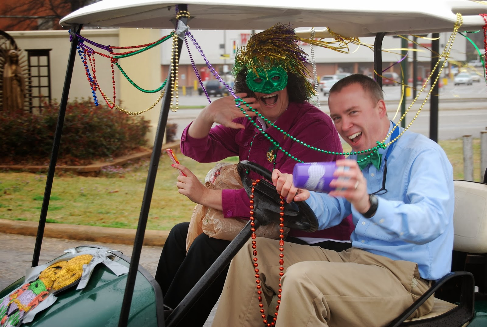 Mardi Gras Comes to Montgomery Catholic's St. Bede Campus 2