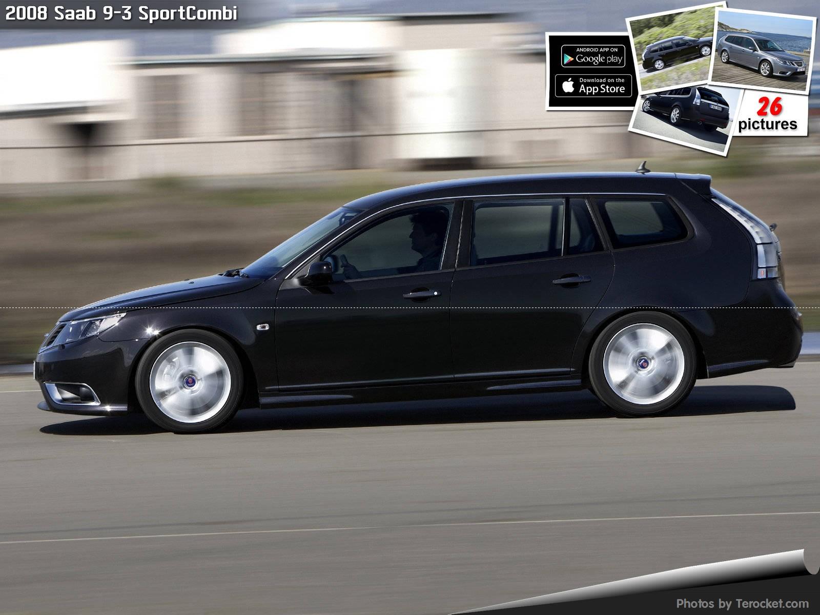 Hình ảnh xe ô tô Saab 9-3 SportCombi 2008 & nội ngoại thất