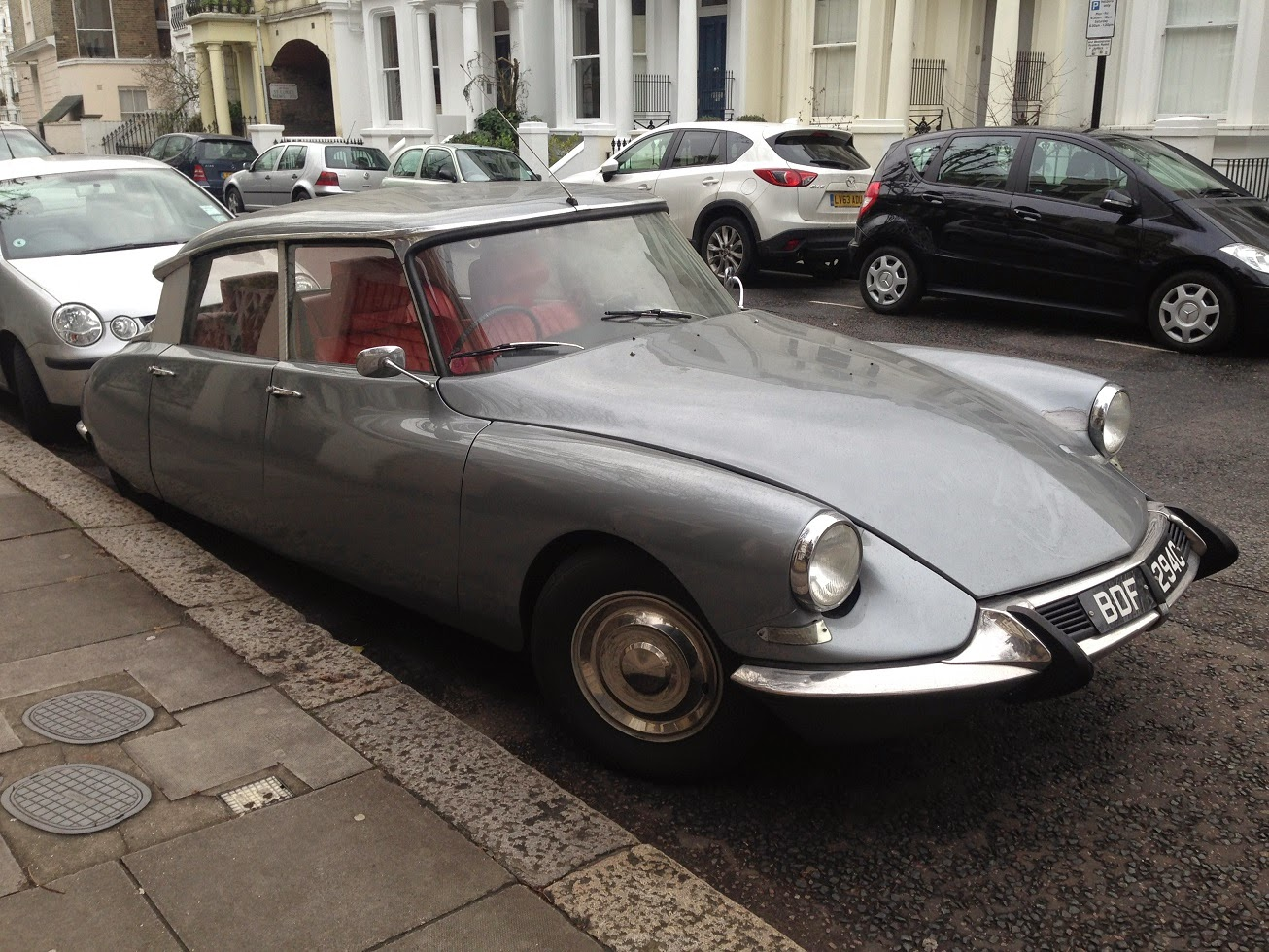 Old Citroen, London W2