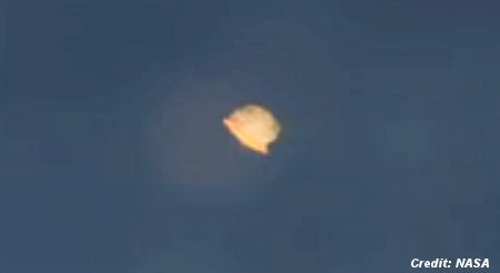 NASA Solves 'UFO' Mystery About Object Spotted By Astronaut Chris Cassidy Outside ISS 8-19-13