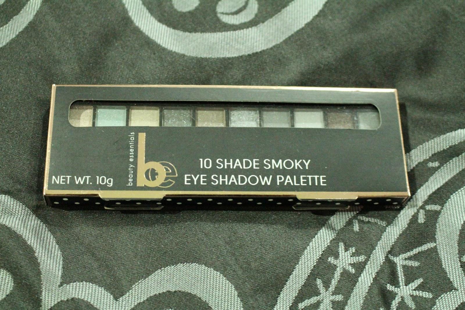 Beauty Essentials 10 Shade Smoky Eye Shadow Palette