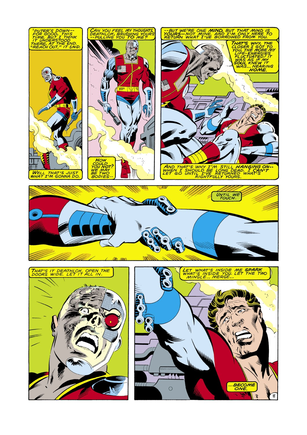 Captain America (1968) Issue #287 #203 - English 9