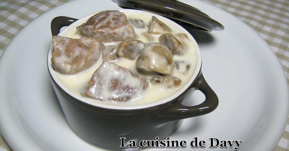 La cuisine de davy blanquette de veau l 39 ancienne - Cuisine blanquette de veau a l ancienne ...