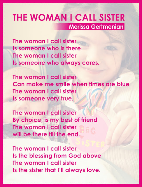 The woman i call sister merissa gertmenian the woman i call sister