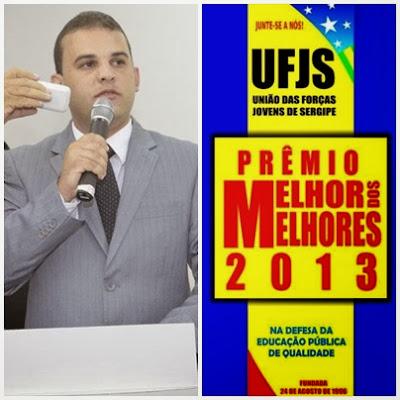 """Vereador Max de Zé de Toinho receberá prêmio """"Melhor dos Melhores 2013""""."""