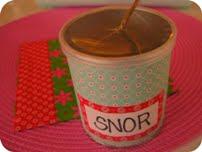 Snorholder DIY
