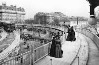 Trottoir roulant Exposition 1900 Paris
