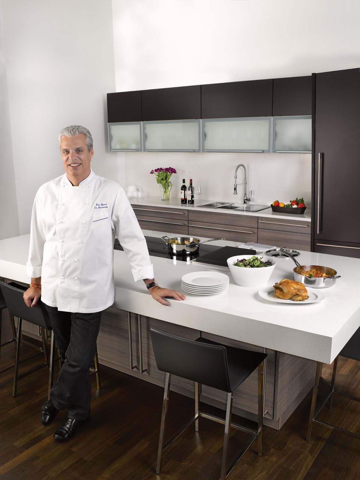 Nest By Tamara Celebrity Chef Eric Ripert Of Le Bernardin Designs A Kitchen For Poggenpohl