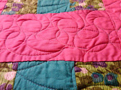 Vintage Quilt - Up Close