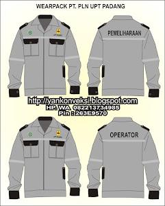 WEARPACK LAPANGAN PT PLN ( Persero ) UPT PADANG