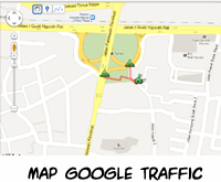 Alamat Allia Furniture google map traffic