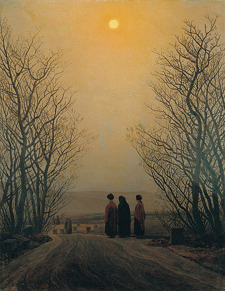 one year one painting a day caspar david friedrich and. Black Bedroom Furniture Sets. Home Design Ideas