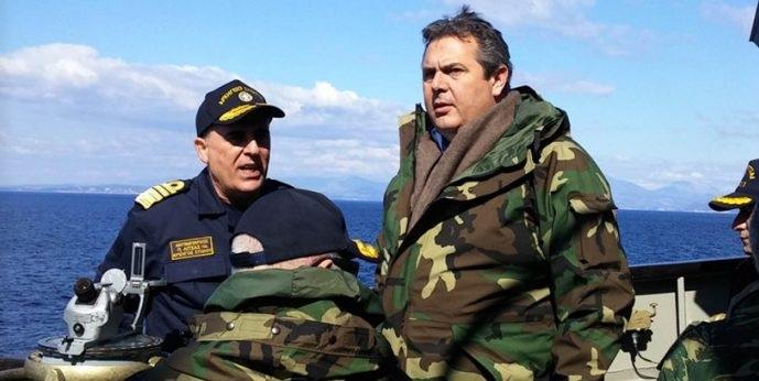 Καμμένος σε Γαλλική εφημερίδα: Βρισκόμαστε πολύ κοντά σε δυστύχημα με την Τουρκία!