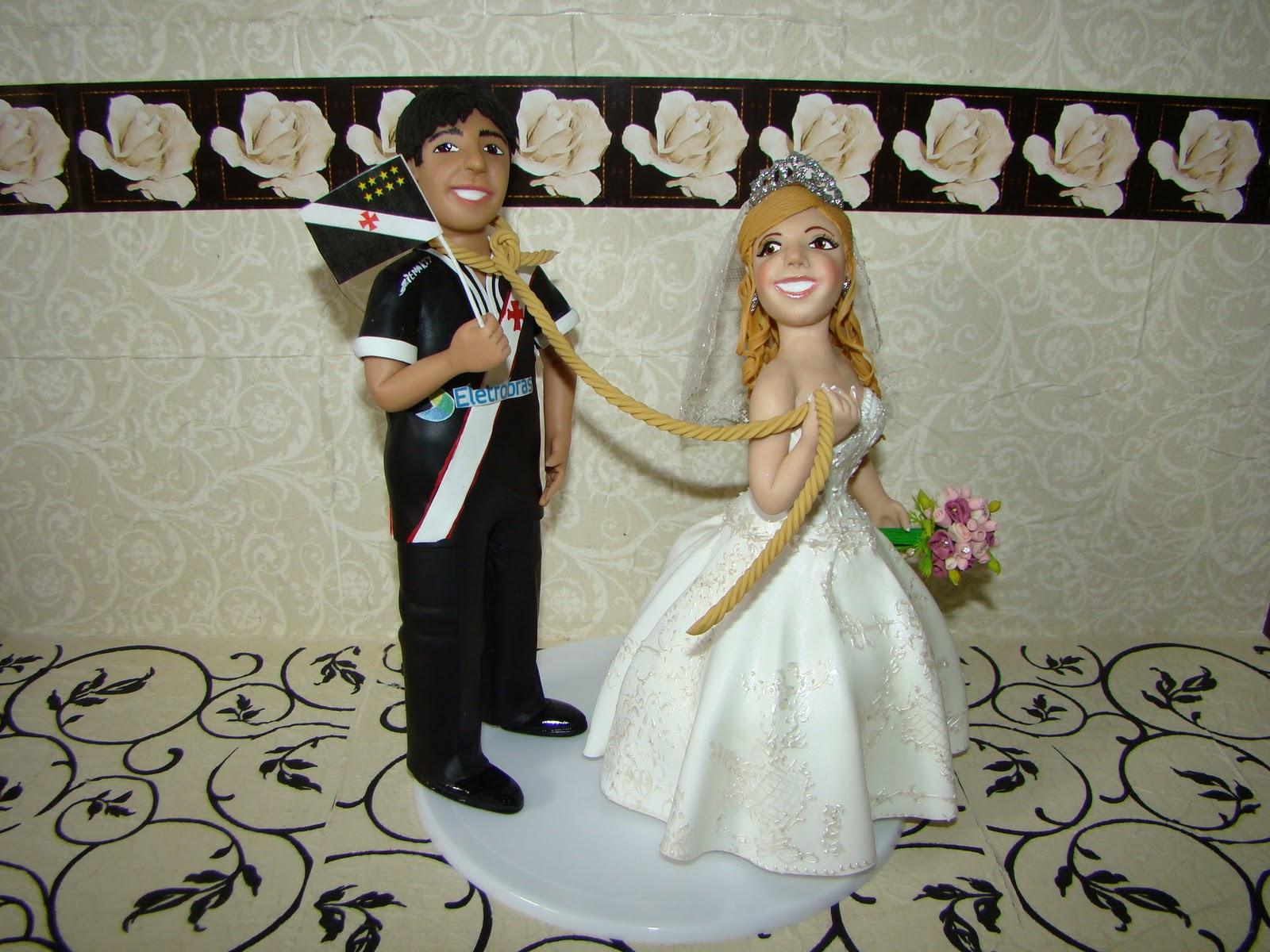 De Bolo Noivinhos De Casamento Noivinhos Personalizados Topo De Bolo