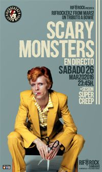 RifRocKerZ from Mars! SCARY MONSTERS (26 marzo)