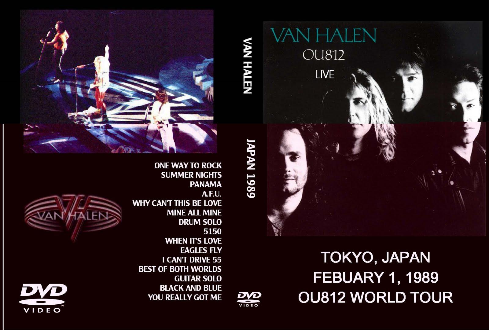 Deer 5001: Van Halen - Tokyo, Japan - 1989-01-02