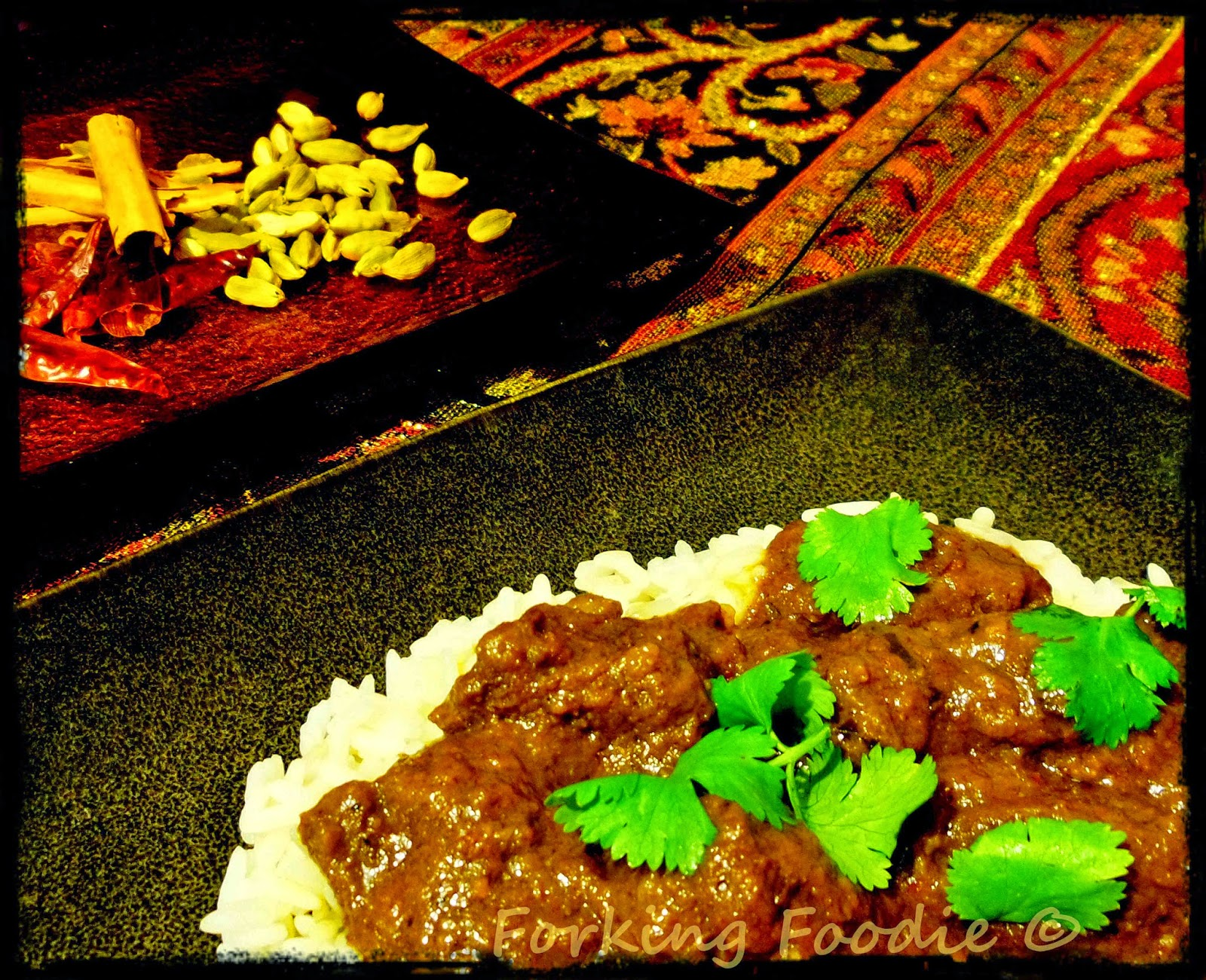 Forking foodie beef madras slow cooked with thermomix i have resisted cooking anything which should be slow cooked in the thermomix ever since ive had one dont get me wrong its an absolutely amazing forumfinder Choice Image