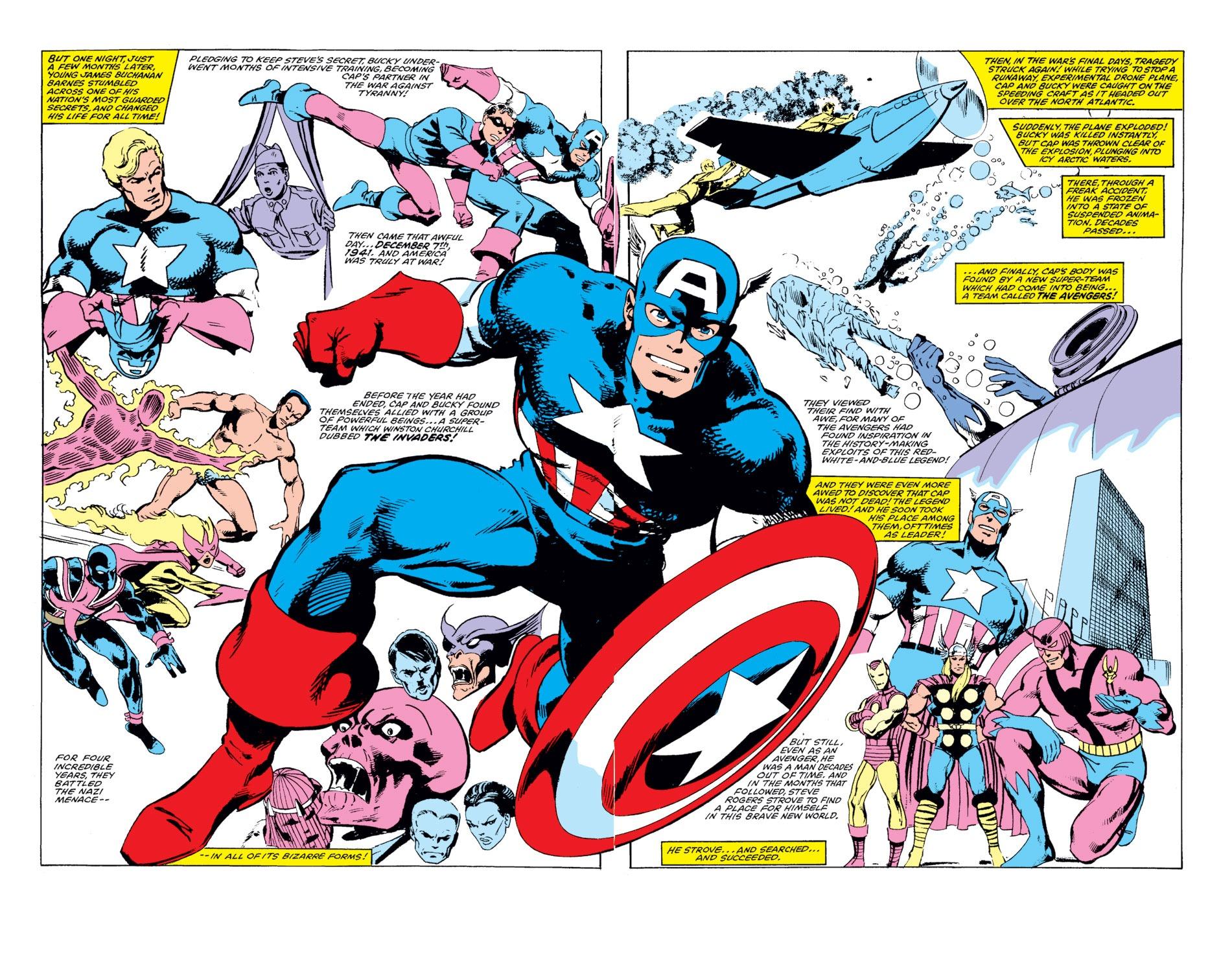 Captain America (1968) Issue #255 #170 - English 21
