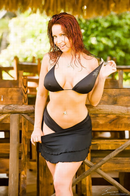 Healthy! bianca beauchamp black bikini commit error