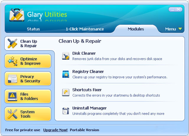 Glary Utilities Pro download from www.freewarelatest.com