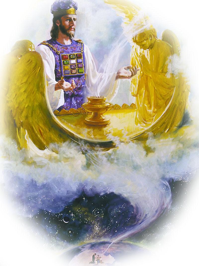 09 nuestro sumo sacerdote en el lugar sant simo