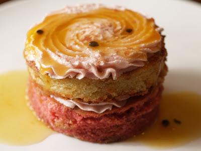 gluten free, pink, raspberry buttercream,