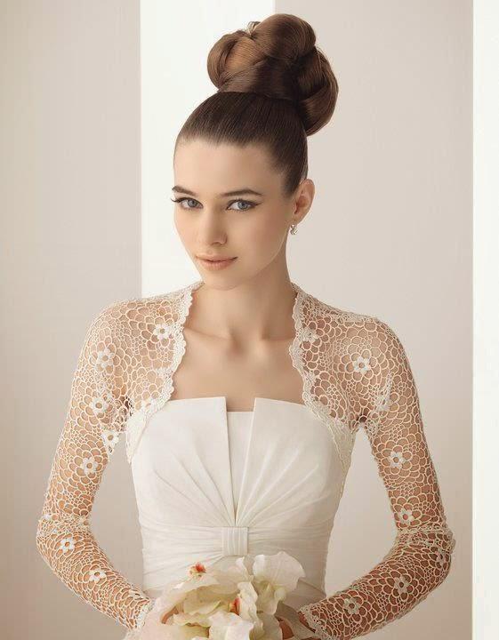 Moda y ropa de mujer diferentes boleros o chaquetas para for Chaquetas de novia