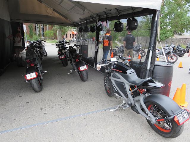 Harley-Davidson LiveWire Demo