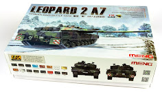 In-Boxed: Meng's Leopard 2 A7 German Main Battle Tank (Part I)