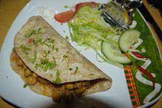 chickpea curry, Indian cuisine, starter