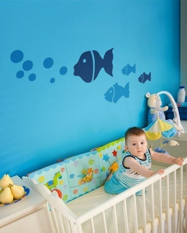 Multinotas pegatinas decoraci n habitaci n del bebe for Pegatinas decoracion bebe